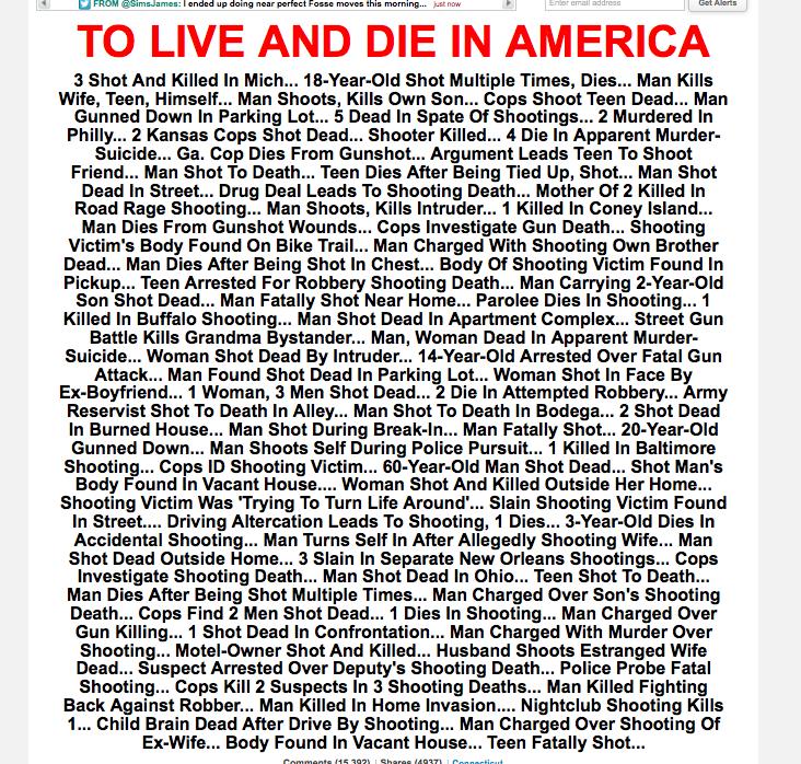 Huffingtonpost Headline from 22.12.12