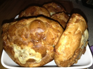 Easy to make and eat: Cheddar Gougères